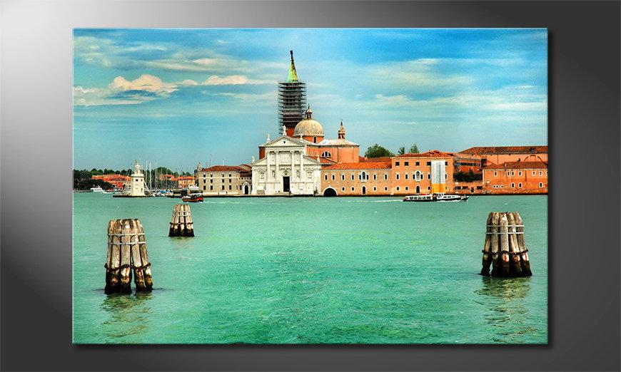 Het gedrukte beeld Venice