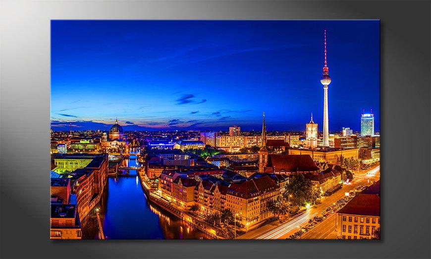 Het moderne beeld Berlin City