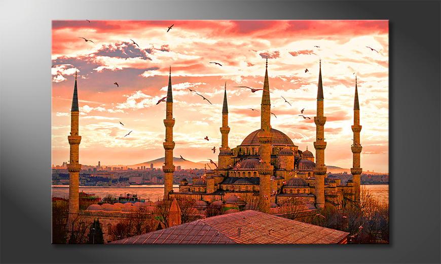 Het moderne beeld Blue Mosque