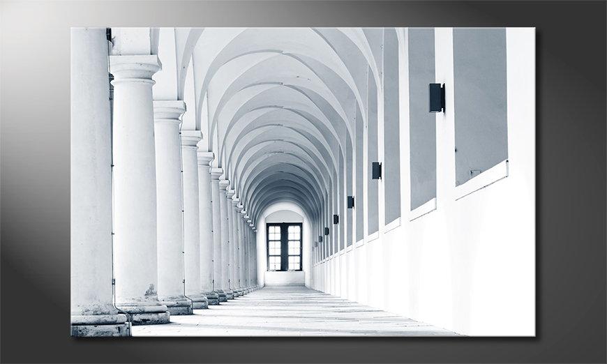 Het moderne beeld Columns Gallery