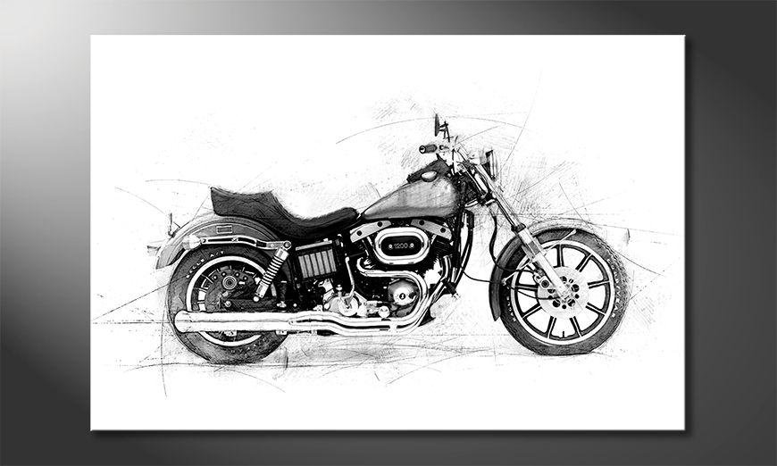 Het moderne beeld Motorcycle