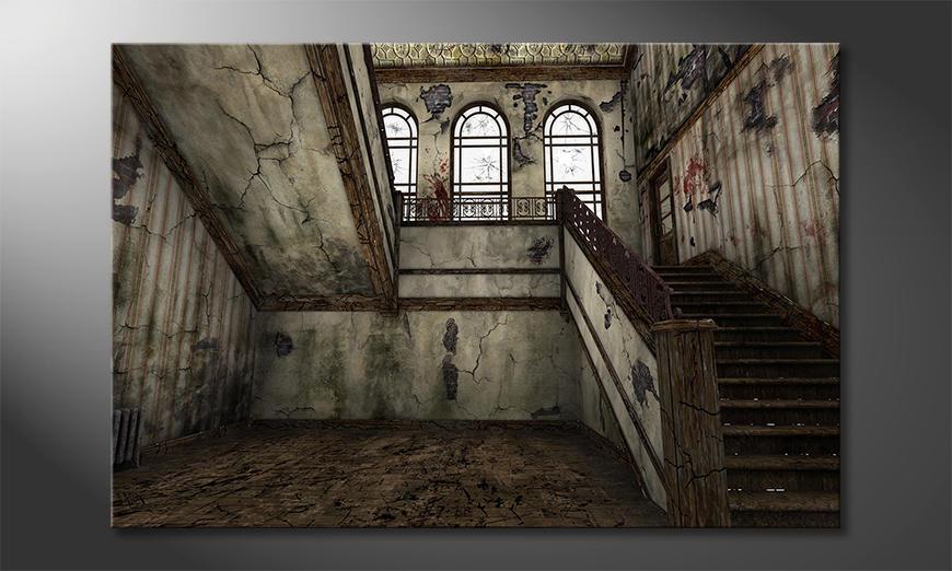 Het moderne beeld Staircase