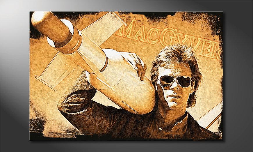 Het populaire canvas MacGyver