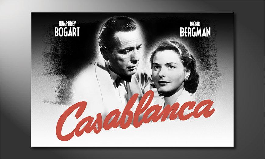 Het populaire print Casablanca