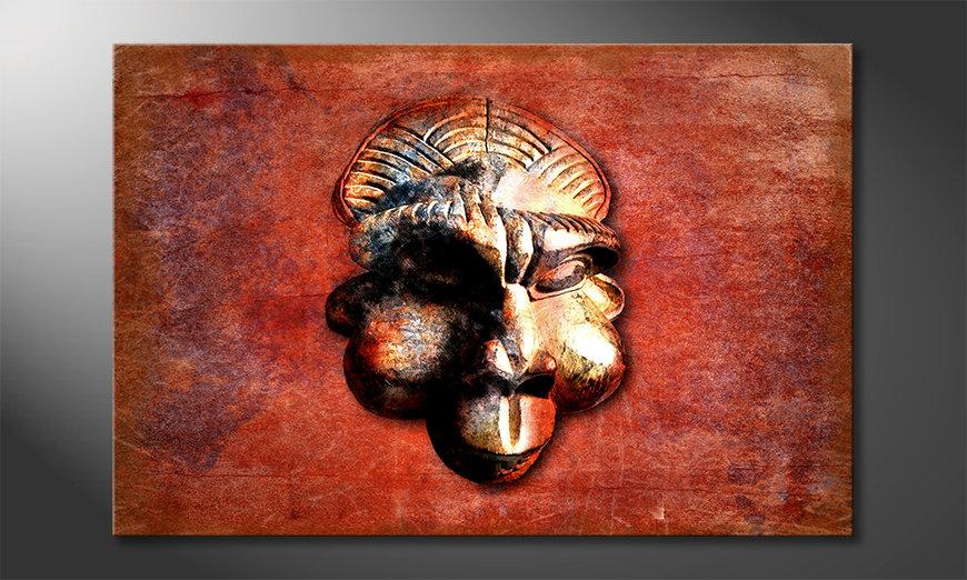 Modern canvas afdrukken Monkey