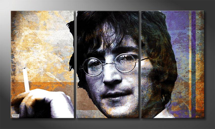 Modern decor John Lennon 180x100 cm