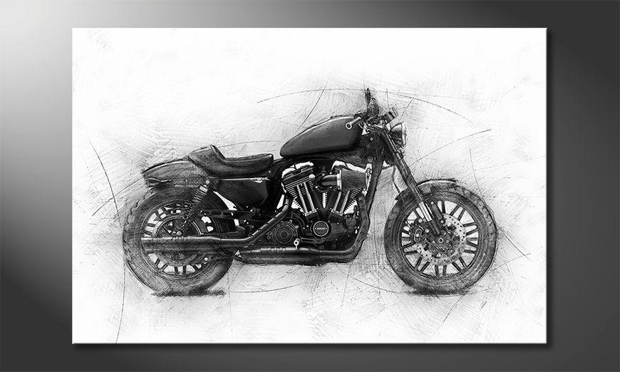 Modern decor Motocycle Uno
