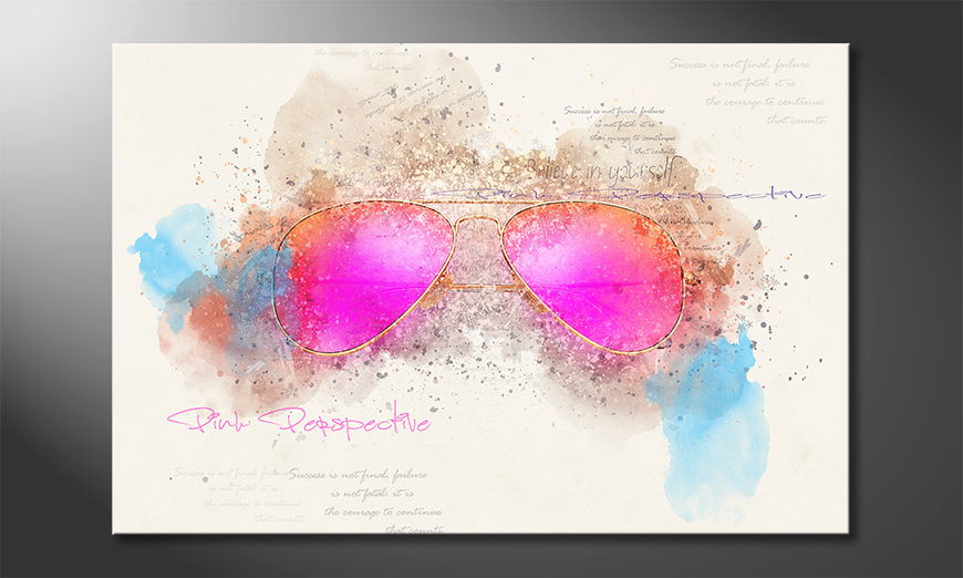 Modern decor Pink Glasses