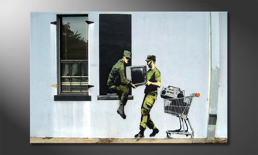 Modern decor TV Loving Army