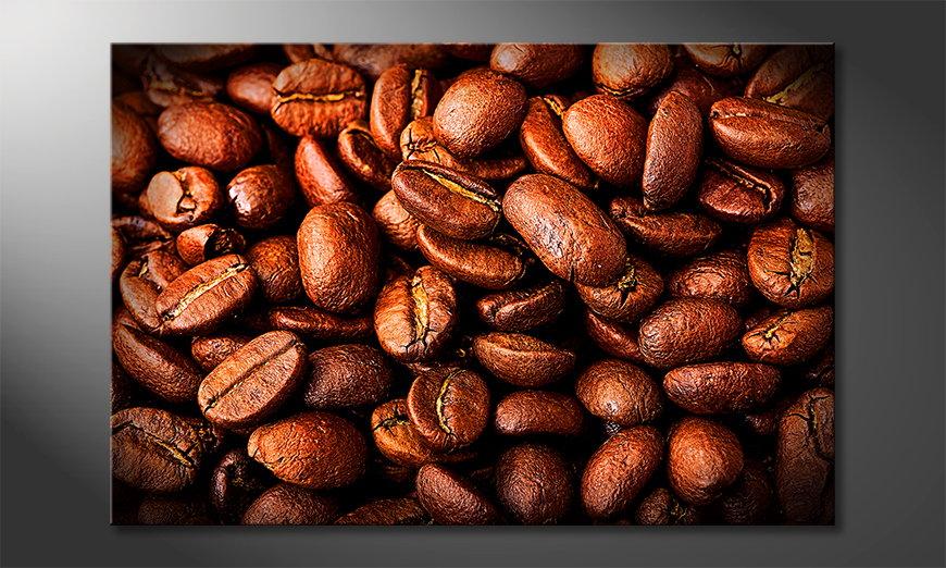 Modern wandpaneel Coffee