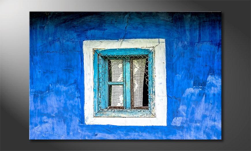 Old Window wandpaneel