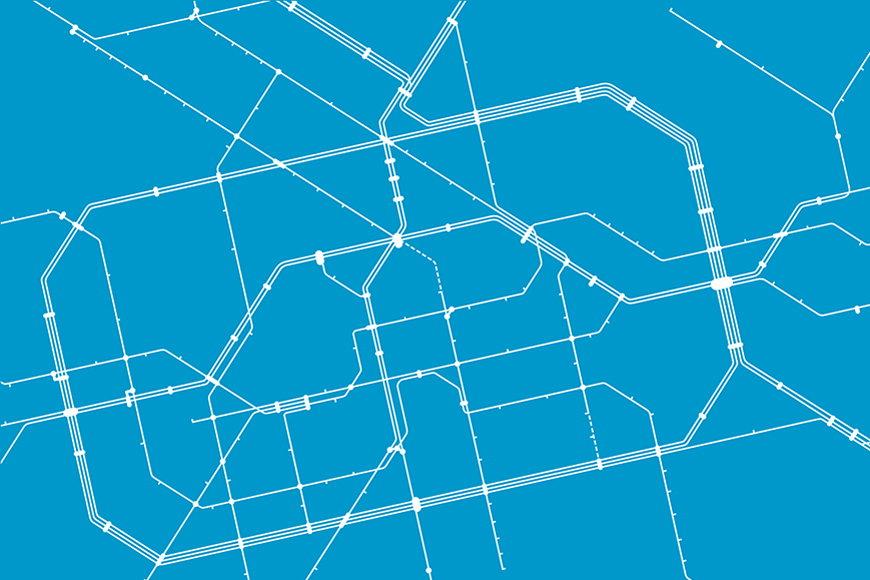 Vlies-behang Metro Berlin vanaf 120x80cm