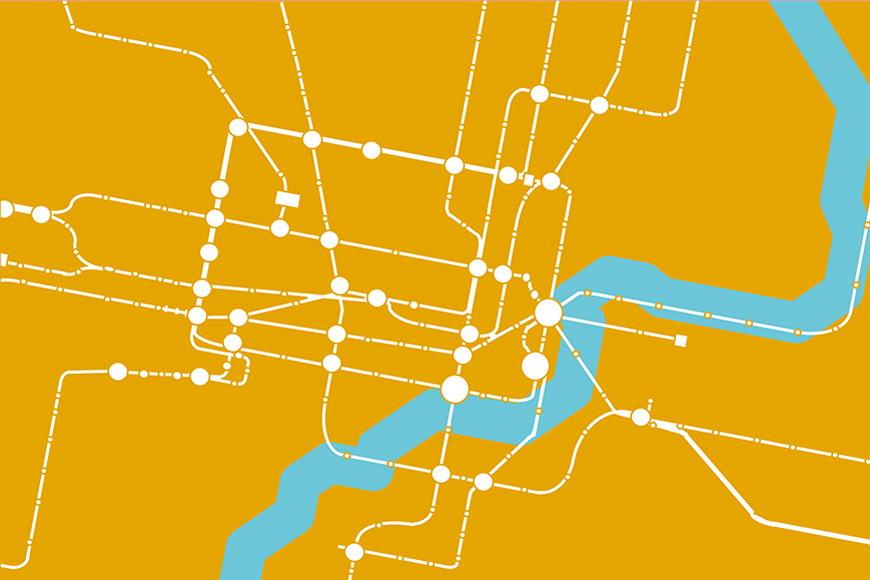 Vlies-behang Metro Shanghai vanaf 120x80cm
