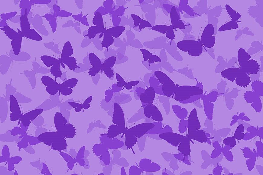 Vlies-behang Vlinders vanaf 120x80cm