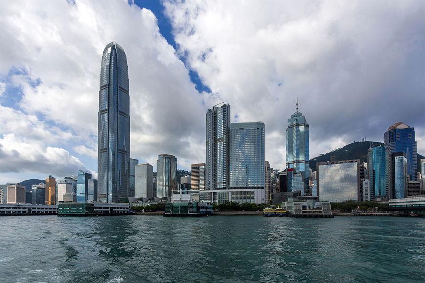 Vlies foto-behang Hongkong vanaf 120x80cm