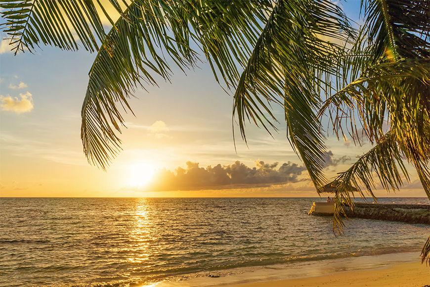 Vlies foto-behang Malediven Moment in 6 Größen