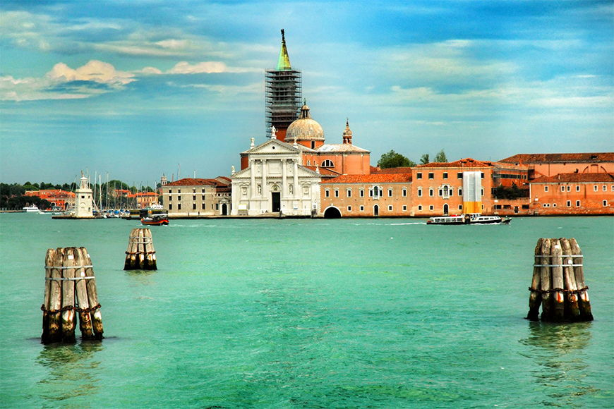 Vlies foto-behang Venice in 6 Größen