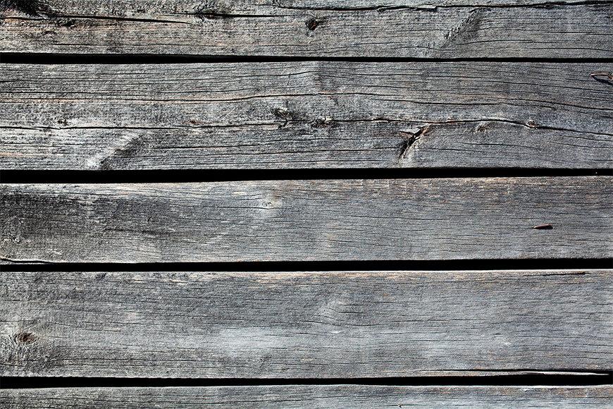 Vlies foto-behang Woodboards