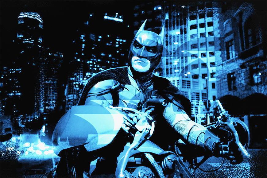 Vlies fotobehang Batman vanaf 120x80cm