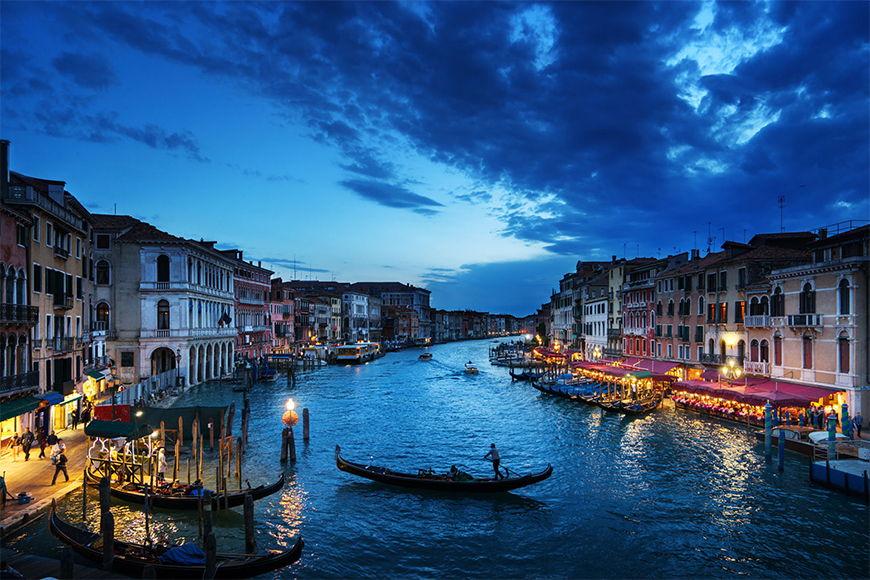 Vlies fotobehang Bella Venecia vanaf 120x80cm