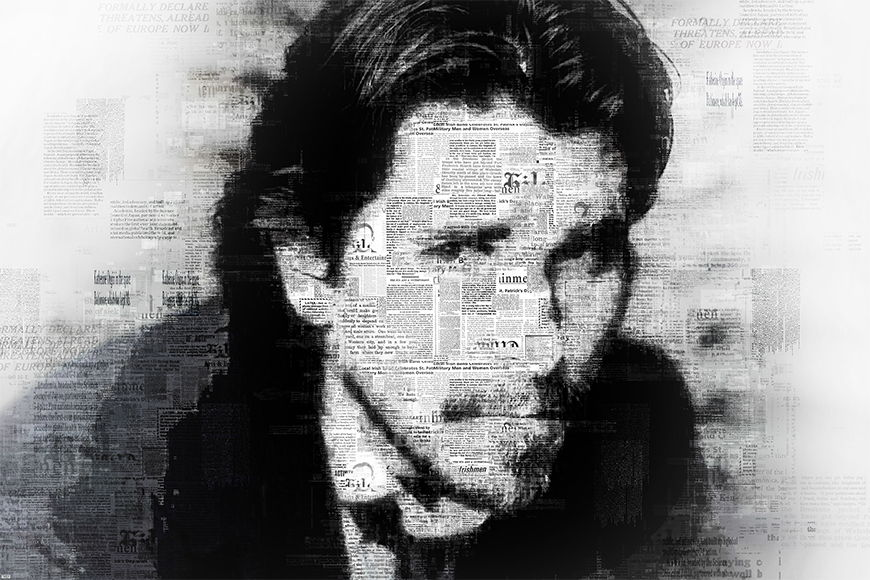 Vlies fotobehang Christian vanaf 120x80cm