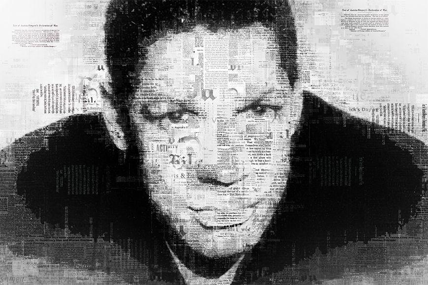 Vlies fotobehang Denzel vanaf 120x80cm