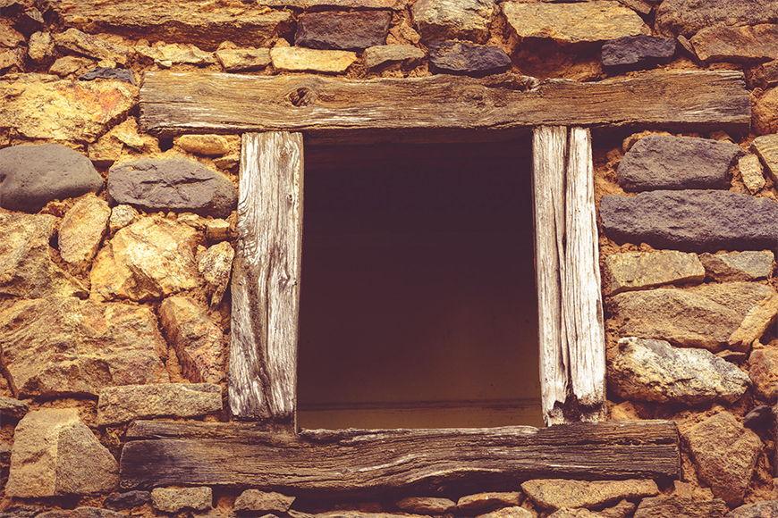 Vlies fotobehang Doorkijk vanaf 120x80cm