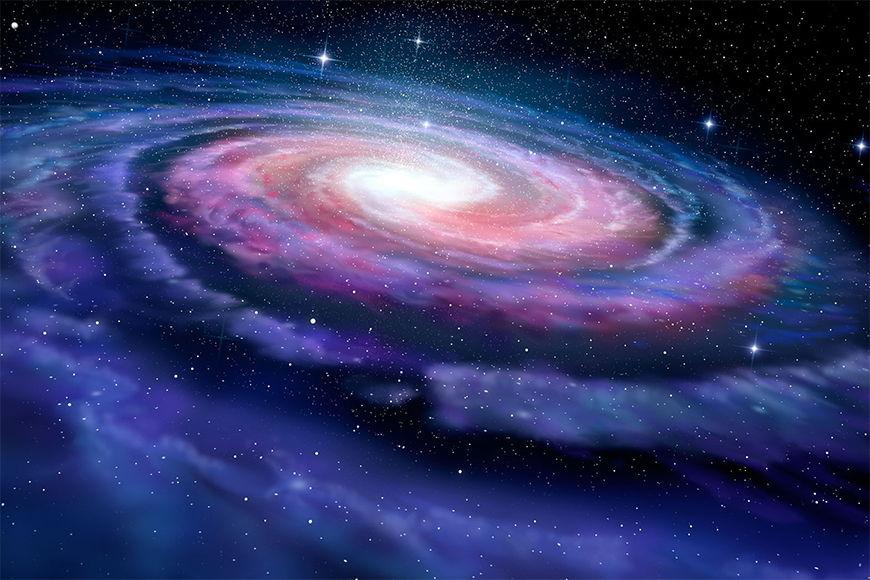 Vlies fotobehang Magic Galaxy vanaf 120x80cm