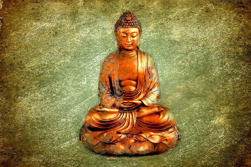 Vlies fotobehang Meditation