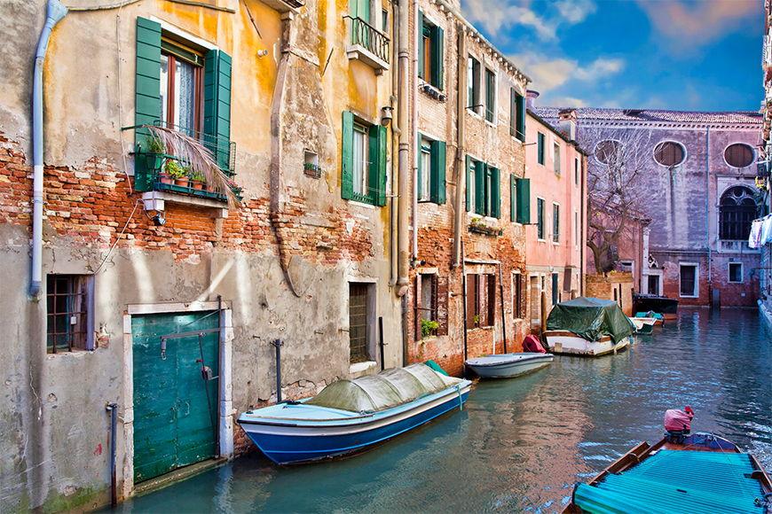Vlies fotobehang Mooies Venetie vanaf 120x80cm