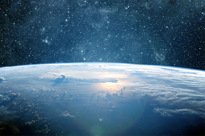Vlies fotobehang Planeet Aarde vanaf 120x80cm