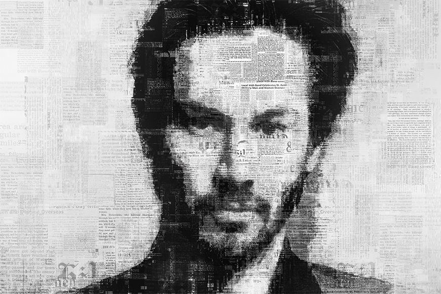 Vlies fotobehang Reeves vanaf 120x80cm
