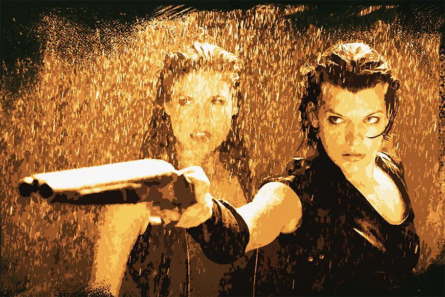 Vlies fotobehang Resident Evil vanaf 120x80cm