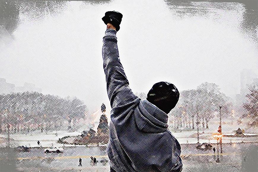 Vlies fotobehang Rocky Moment vanaf 120x80cm