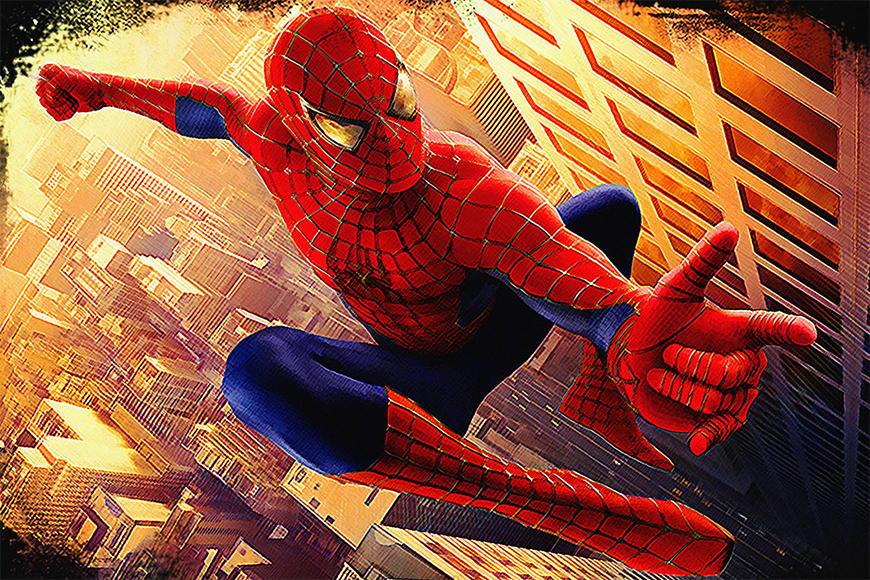 Vlies fotobehang Spiderman vanaf 120x80cm