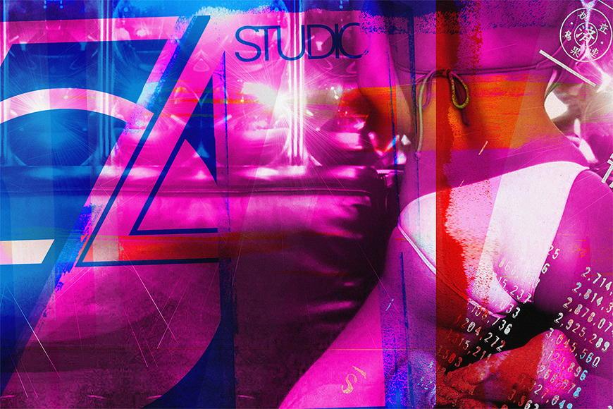 Vlies fotobehang Studio 54 vanaf 120x80cm