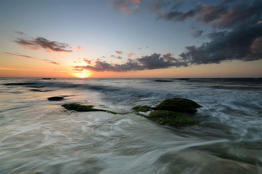Vlies fotobehang Sunset vanaf 120x80cm