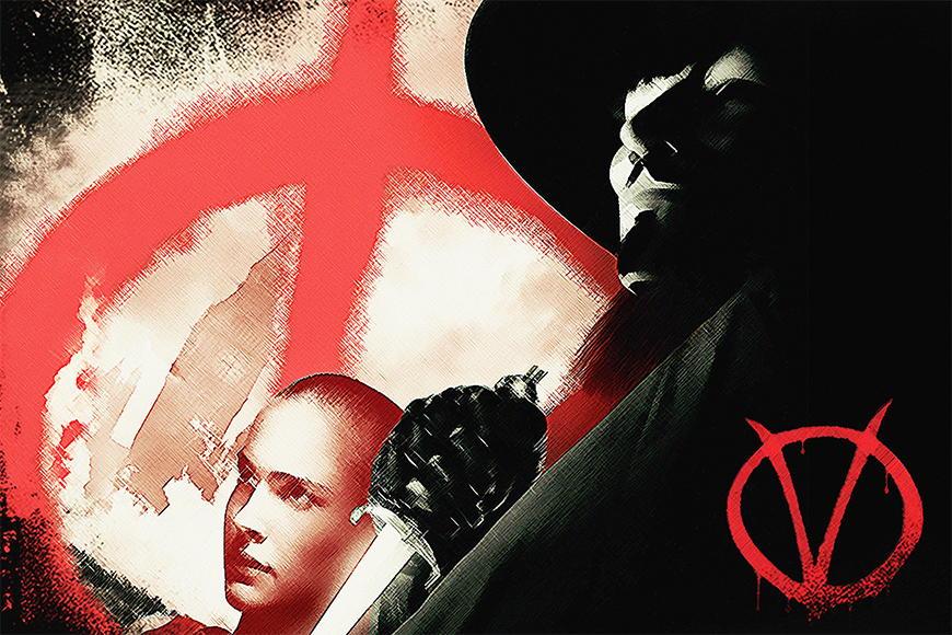 Vlies fotobehang Vendetta vanaf 120x80cm