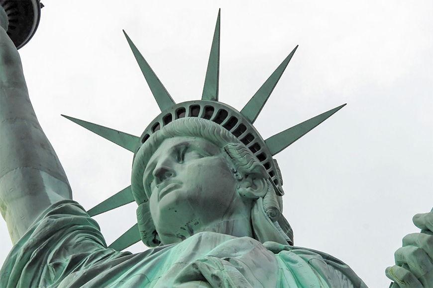 Vlies fotobehang Vrijheidsbeeld vanaf 120x80cm