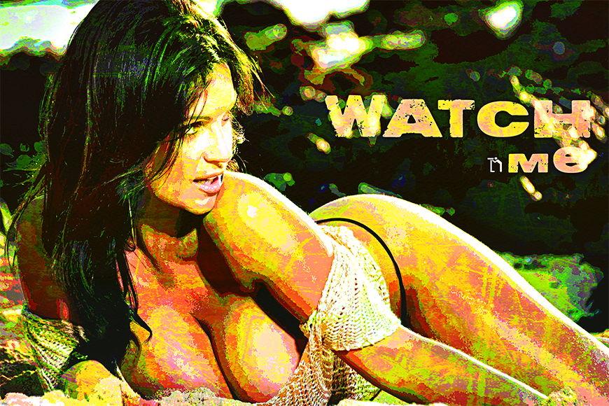 Vlies fotobehang Watch Me vanaf 120x80cm