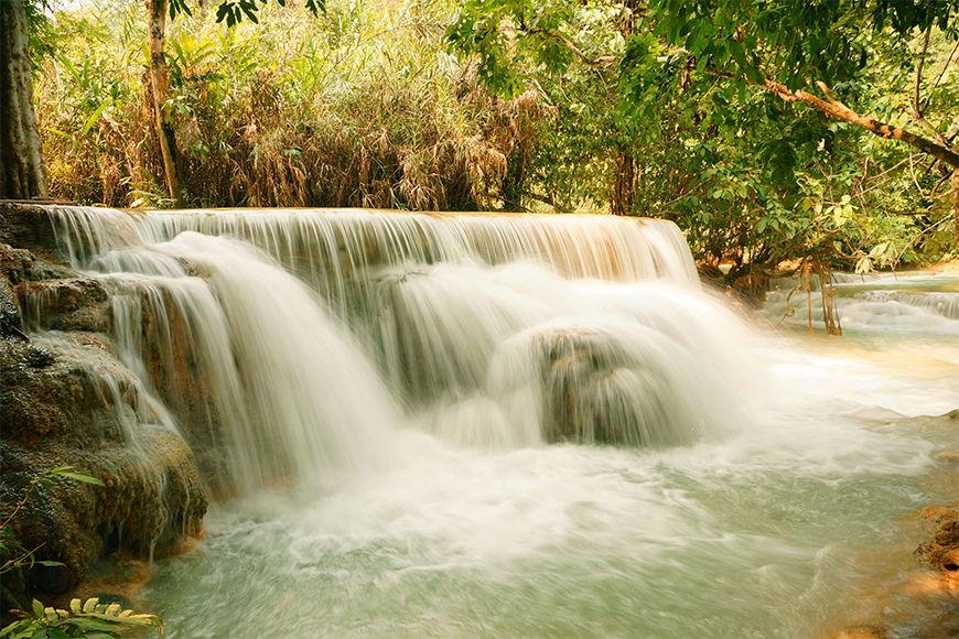 Vlies fotobehang Waterval vanaf 120x80cm