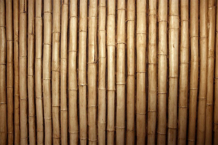Vliesbehang Bamboe vanaf 120x80cm