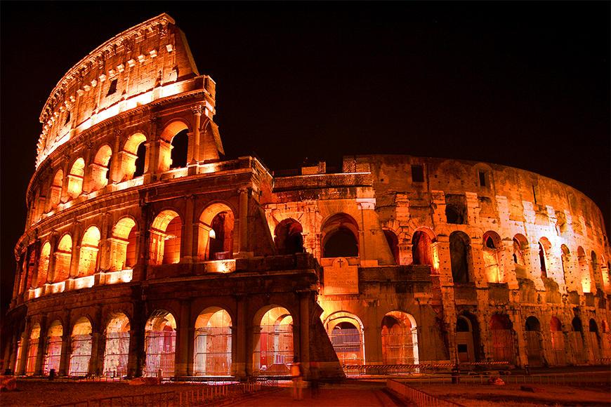 Vliesbehang Colosseum