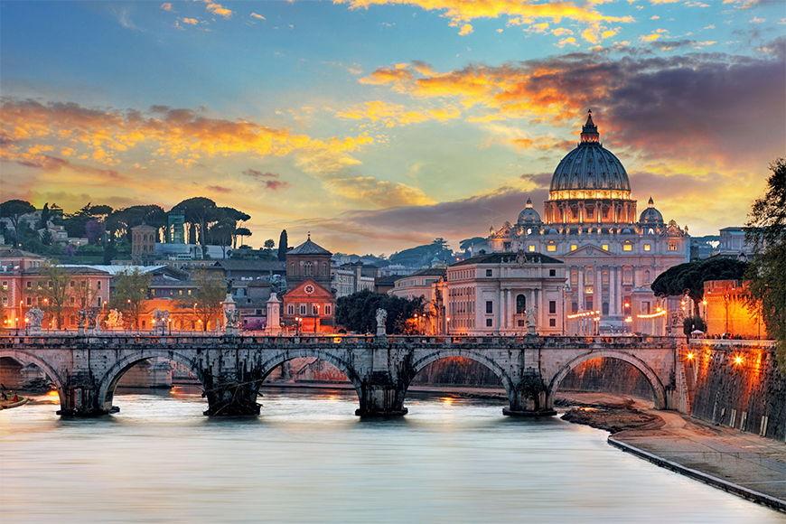 Vliesbehang De Vaticaan vanaf 120x80cm