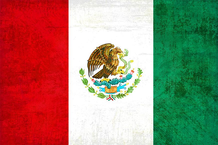 Vliesbehang Mexico