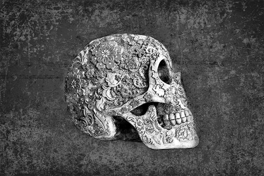 Vliesbehang Suger Skull