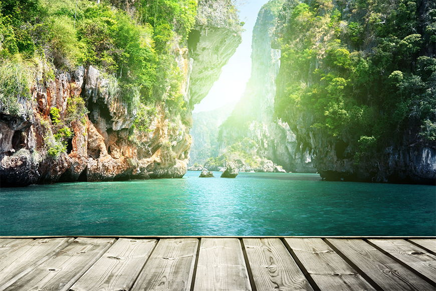 Vliesbehang Thai Moment vanaf 120x80cm