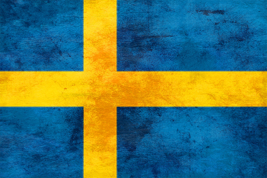 Vliesbehang Zweden