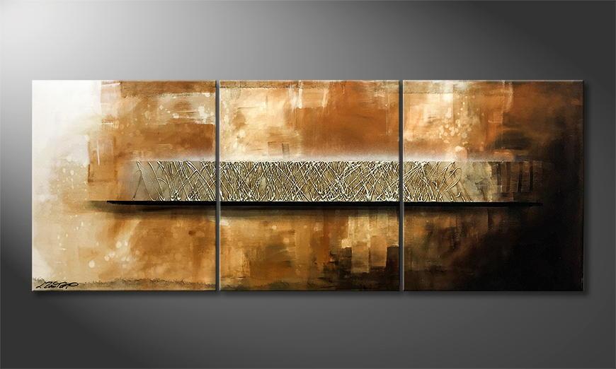 De schilderij Hope 180x70x2cm