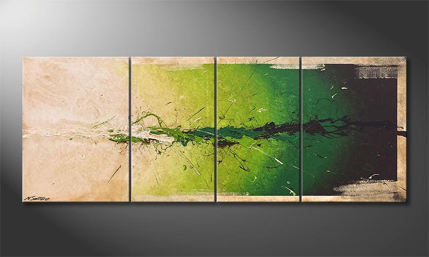 De schilderij Moment Of Hope 180x70x2cm